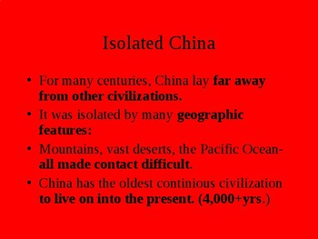 Ancient China powerpoint