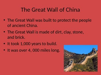 Ancient China_Powerpoint_2nd Grade