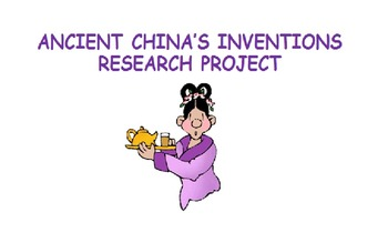 Ancient China's Inventions – Research Project
