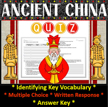 Ancient China Quiz