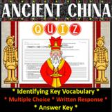 Ancient China Quiz