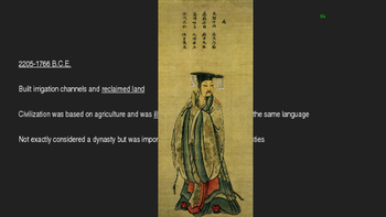 Ancient Chinese Dynasties Power Point