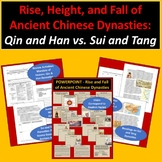 Ancient Chinese Dynasties: Qin and Han vs. Sui and Tang