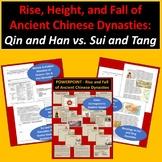 Ancient Chinese Dynasties: Qin and Han vs. Sui and Tang