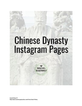 Ancient Chinese Dynasty Instagram Pages