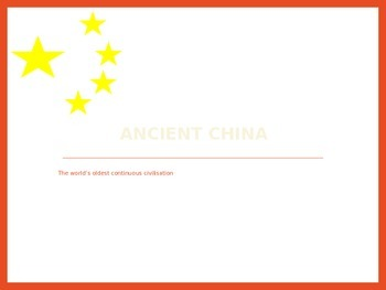 Ancient Chinese Geography