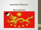 Ancient Chinese Inventions Power Point