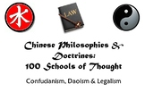 Ancient Chinese Philosophies and Moral Dilemmas