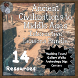 Ancient Civ - Middle Ages History Interactive Lessons Bund