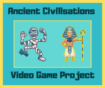 Ancient Civilisations Retro Video Game Project