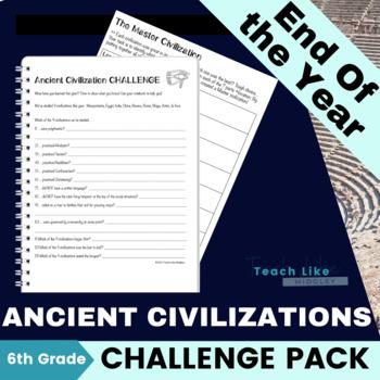 Ancient Civilization Challenge Pack