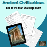 Ancient Civilizations: End of Year Challenge Activity