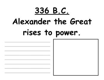 Ancient Civilization Class Timeline