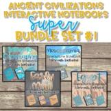 Ancient Civilization Interactive Notebook Bundle {Set #1}