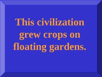 Ancient Civilization PowerPoint - Maya, Aztec, Inca