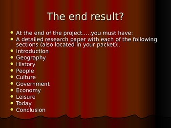 Ancient Civilization Research Project ppt.