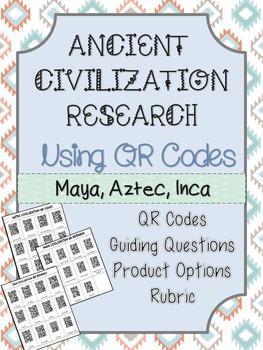 Ancient Civilization Research using QR Codes: Maya, Aztec, Inca