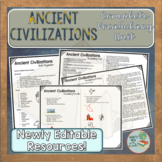 Ancient Civilizations Vocabulary Unit
