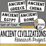 Ancient Civilizations Guided Research Project
