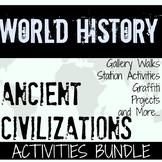Ancient Civilizations Activities Bundle