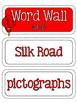 Ancient Civilizations: Ancient China Word Wall and Vocabul