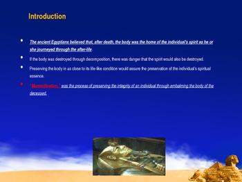 Ancient Civilizations - Ancient Egyptians & Mummification