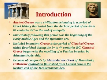 Ancient Civilizations - Ancient Greece