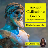 Ancient Civilizations: Ancient Greece for Middle/High School Special Ed