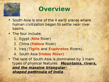 Ancient Civilizations -  Ancient India & Southeast Asia