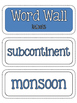 Ancient Civilizations: Ancient India Word Wall and Vocabul