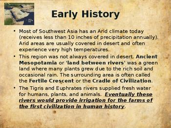 Ancient Civilizations - Ancient Iraq & Southwest Asia (Mesopotamia)