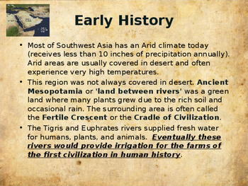 Ancient Civilizations - Iraq & Southwest Asia (Mesopotamia)