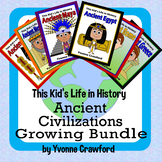 Ancient Civilizations BUNDLE - Ancient Maya, Ancient Egypt, Ancient China