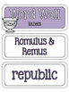 Ancient Civilizations: Ancient Rome Word Wall and Vocabulary Builder