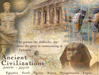 Ancient Civilizations - Art History Poster