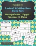 Ancient Civilizations BINGO (Bundled): Mesopotamia, Egypt,