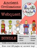 Ancient Civilizations BUNDLE Webquest Activities