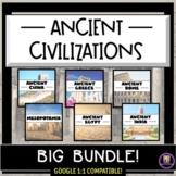 Ancient Civilizations Big Bundle of Resources (Distance Le