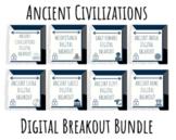 Ancient Civilizations Breakout / Escape Room Bundle
