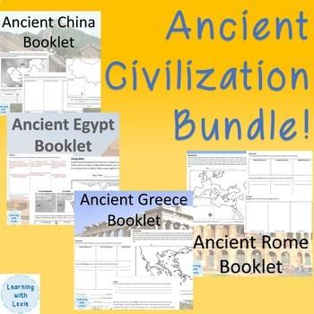 Ancient Civilizations Bundle!