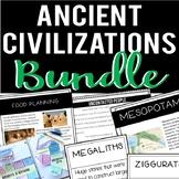 Ancient Civilizations Bundle: Hunter-Gatherer, Mesolithic-Neolithic, Mesopotamia