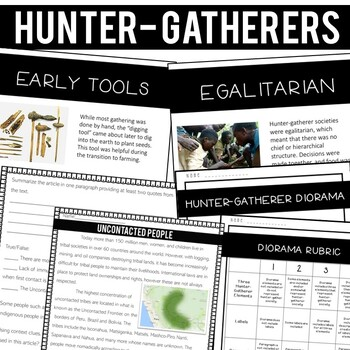 Ancient Civilizations Bundle: Hunter-Gatherer, Mesolithic-Neolithic, Mesopotamia