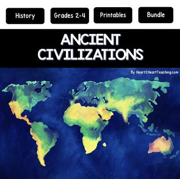 Ancient Civilizations Bundle: Ancient Egypt, Greece & Rome (Print & Digital)