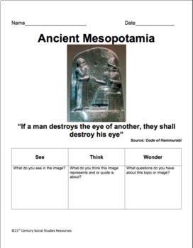 Ancient Civilizations Bundle: China, Rome, Mesopotamia, Egypt (Visual CCLS)