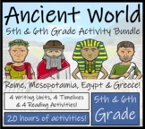Ancient Civilizations Bundle - Close Reads & Informational Text Writing Units