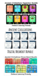 Ancient Civilizations Bundle: Hyperdocs, Choice Boards, and Digital Breakouts