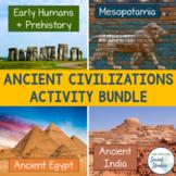 Ancient Civilizations Bundle Part 1: Prehistory, Mesopotam