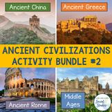 Ancient Civilizations Bundle Part 2: Ancient China, Greece