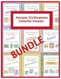 Ancient Civilizations Colorful Visuals Bundle