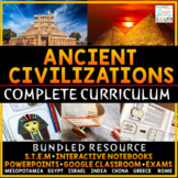 Ancient Civilizations Curriculum Ancient History (Complete) | Distance Learning